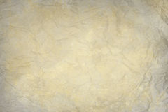 Old wrinkled paper texture Royalty Free Stock Images