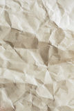 Old wrinkled paper Royalty Free Stock Images