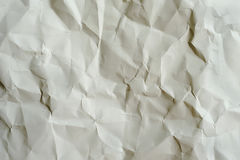 Old wrinkled paper textured Royalty Free Stock Photography