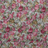 Old wrinkled  paper vintage floral background of roses. Stock Photos