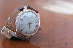 Old wrist watch Royalty Free Stock Image