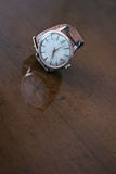 Old wrist watch Royalty Free Stock Photo