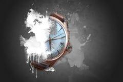 Old wrist watch Stock Photos