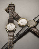 Old Wrist Watches Stock Images