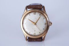 Old wristwatch Stock Images
