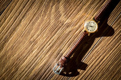 Old wristwatch Stock Image