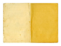 Old writing-pad a. Obsolete writing-pad isolated on white (clipping path Royalty Free Stock Photos