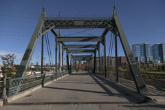 Old wrought iron bridge in Denver Stock Photos