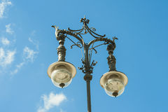 Old wrought-iron gas lantern in Berlin Stock Image