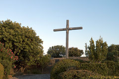 Old WWII cemetery at Crete island. Old WWII German military cemetery at Maleme of Crete island in Greece Royalty Free Stock Photos