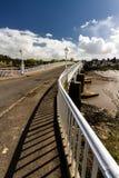 The Old Wye Bridge or Town Bridge at Chepstow Royalty Free Stock Photo
