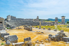 Old Xanthos city Royalty Free Stock Photography
