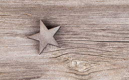 Old xmas star Royalty Free Stock Images