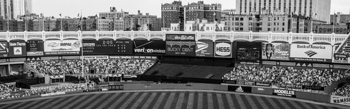 Old Yankee Stadium panoramic Royalty Free Stock Photography