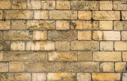 Old Yellow Brick Stock Images