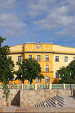 Old yellow building Eger Stock Photos