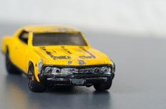 Old yellow car Stock Photo