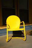 That Old Yellow Chair Stock Image
