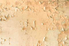 Cracked paint wall Royalty Free Stock Image