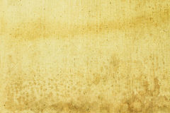 Old yellow fabric texture Stock Image
