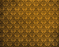 Old Yellow Grunge Background Stock Images