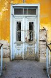 Old yellow house royalty free stock images