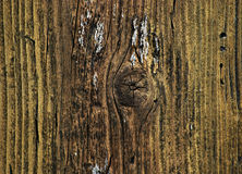 Old yellow painted wood background Stock Photography