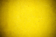 Old yellow paper Royalty Free Stock Photography