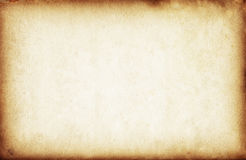 Old yellow paper texture Royalty Free Stock Photo