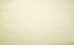 Old yellow paper texture background Royalty Free Stock Photos