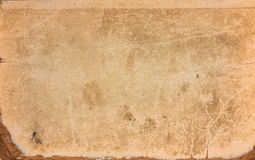 Old Yellow Paper Vintage Texture Background For Stock Photo