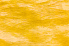 Old yellow plastic sunblind background with dust Royalty Free Stock Photos