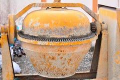Portable concrete mixer Stock Image