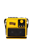 Old yellow radio Royalty Free Stock Images