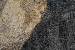 Old yellow Rocks. Background of the old  rocks yellow granite Royalty Free Stock Photos