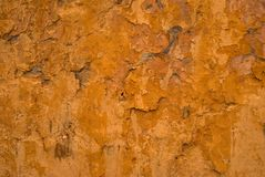 Old yellow stucco. Royalty Free Stock Photography