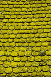 Old yellow tile Stock Photography