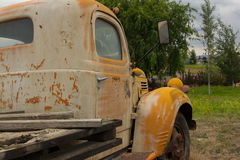 Old Yellow Truck Royalty Free Stock Image