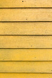 Old yellow wood background Royalty Free Stock Images