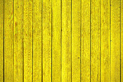 Old yellow wood panels. Old, yellow grunge wood panels used as background Royalty Free Stock Photo
