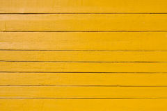 Old yellow wooden plank background Stock Photos