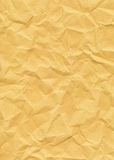 Old Yellowed Crinkled Paper. Old Yellowed And Crinkled Paper Royalty Free Stock Photo
