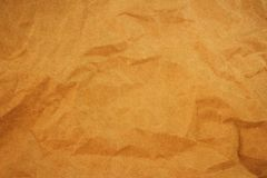 Old yellowed paper, for backgrounds. Textures and layers Royalty Free Stock Images