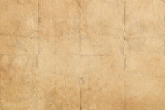 Old yellowed paper texture. Aged and yellowed paper background or texture for the design Royalty Free Stock Image