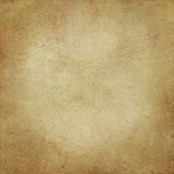 Old yellowed paper texture. Stock Image