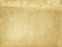 Old yellowed paper texture. Stock Photography