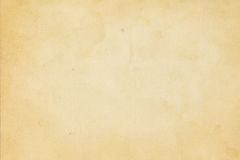 Old yellowed paper texture. Aged yellowed and stained paper background vector illustration