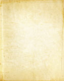 Old yellowed paper texture. stock images