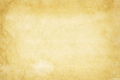 Old yellowish paper texture Stock Photography