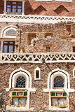 Old Yemeni Building Stock Image